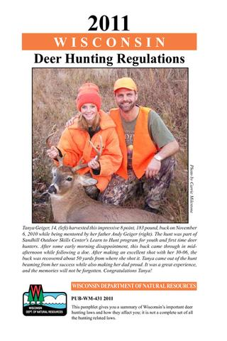 Bowhunter the safety of sport victory outdoors for Wisconsin fishing license