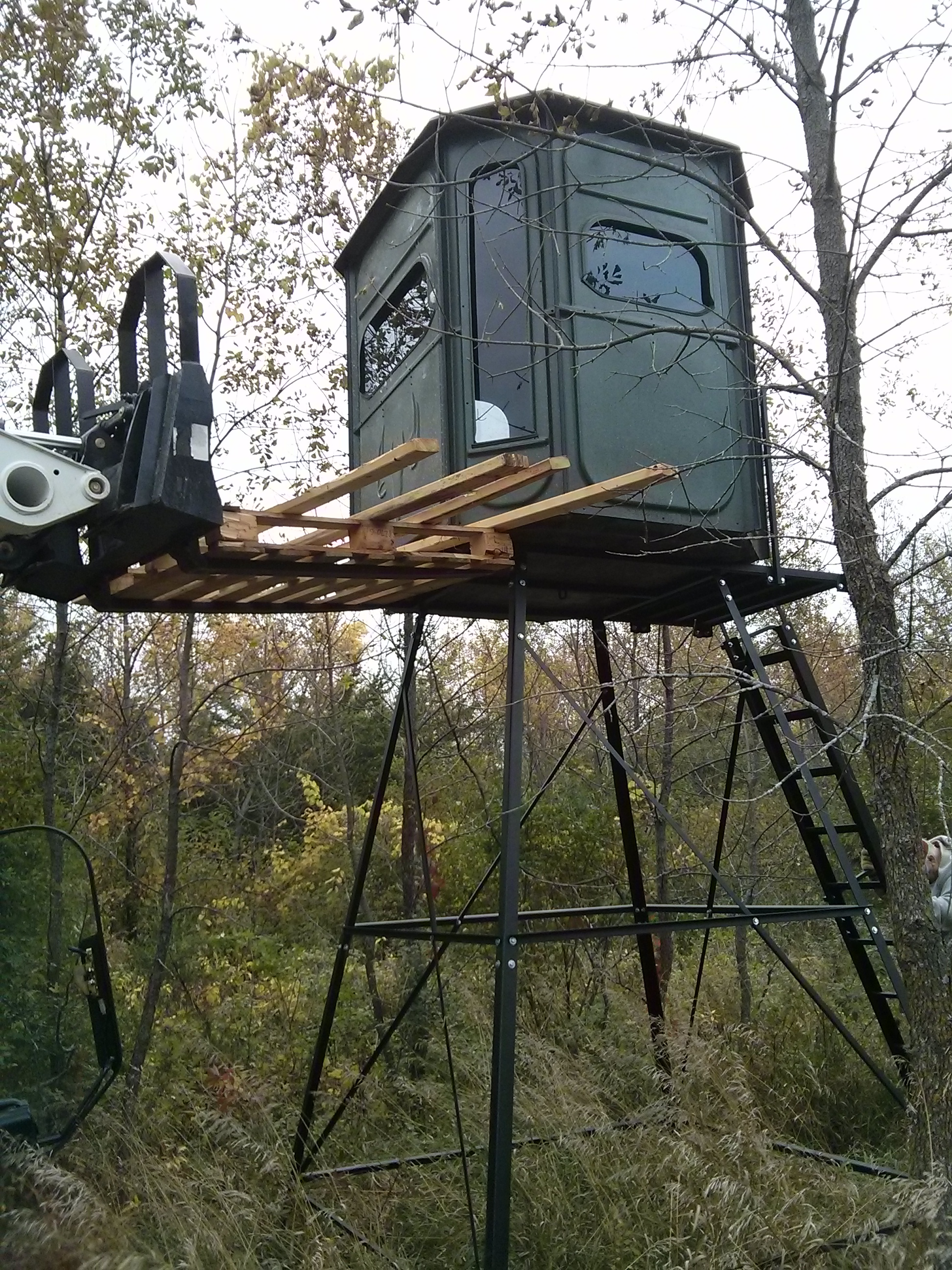 Completion Of The Redneck Blind Victory Outdoors